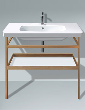 Related Duravit DuraStyle 1000mm Basin With Towel Rail And Shelf
