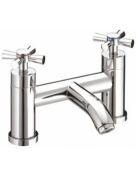 Rio Chrome Plated Bath Filler Tap - RO BF C