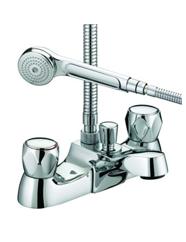 Image of Bristan Value Club Luxury Bath Shower Mixer Tap - VAC LBSM C MT