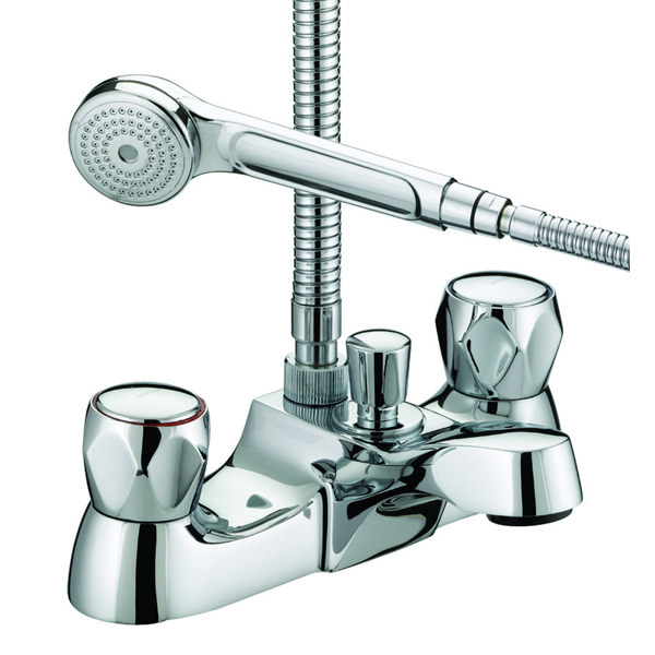Large Image of Bristan Value Club Luxury Bath Shower Mixer Tap - VAC LBSM C MT