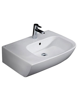 Related RAK Elena 650mm 1 Tap Hole Left Or Right Hand Counter Top Basin