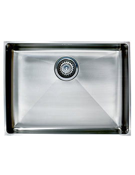 Astracast Onyx 4054 Large Bowl Brushed Stainless Steel Flush Inset Sink