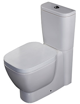 Related RAK Elena Close Coupled WC With Soft Close Seat And Cover 625mm