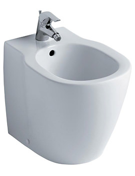 Concept Back-To-Wall Floorstanding Bidet 545mm