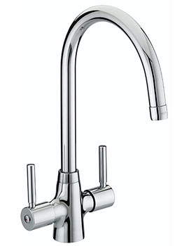 Bristan Monza Monobloc Kitchen Sink Mixer Tap Chrome - MZ SNK C