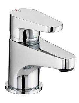 Related Bristan Quest Chrome Plated Basin Mixer Tap - QST BASNW C