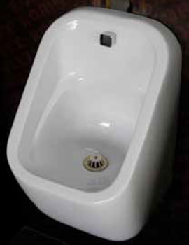 RAK Series 600 310 x 300 x 550mm Urinal Bowl With Brackets