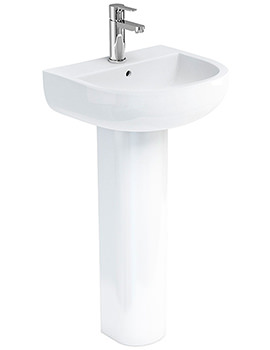 Britton Compact 450mm 1 Tap Hole Basin