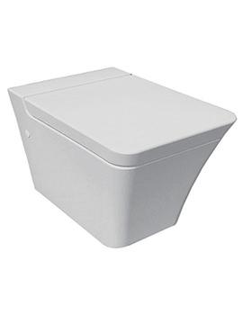 RAK Opulence Wall Hung WC Pan With Soft Close Seat 547mm