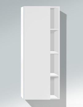 Related Duravit DuraStyle White Matt 1400 x 360mm Tall Cabinet - DS1239L1818