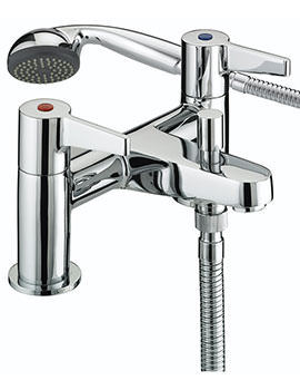 Design Utility Lever Bath Shower Mixer Tap - DUL BSM C