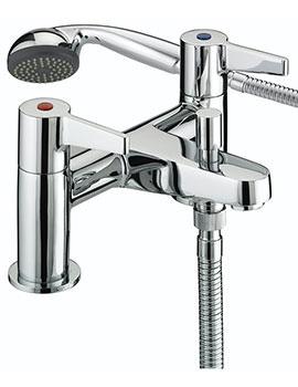 Bristan Design Utility Lever Bath Shower Mixer Tap - DUL BSM C