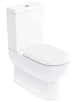 Related Britton Compact Close Coupled WC With Cistern And Soft-Close Seat