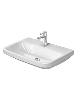 Related Duravit DuraStyle 650mm 1 Taphole Washbasin Med - 2324650000