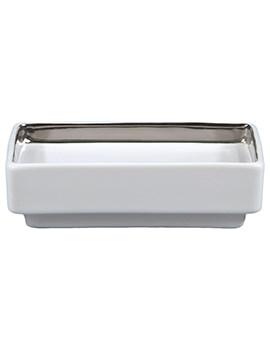 RAK Opulence His Porcelain Soap Dish Alpine White - HSDSWH