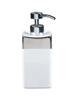 Opulence His Porcelain Soap Dispenser Alpine White - HSSDWH