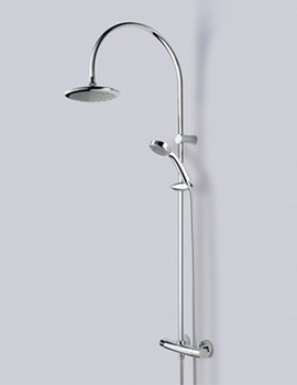 Related Bristan Oval Thermostatic Shower Valve With Diverter - OL SHXDIVFF C