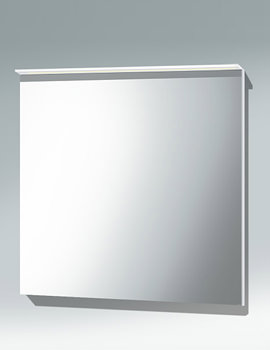 Related Duravit Happy D2 800mm White Mirror With Lighting - H2729402222