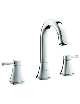 Related Grohe Spa Grandera 3 Hole Basin Mixer Tap With Pop Up Waste - 20389000