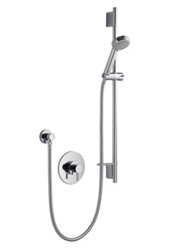 Aqualisa Siren SL Concealed Thermostatic Mixer Shower With Adjustable Head