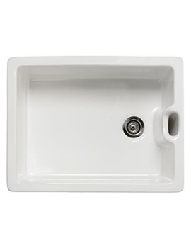 RAK Gourmet 8 Belfast Style Sink With Weir Overflow And Two Faces