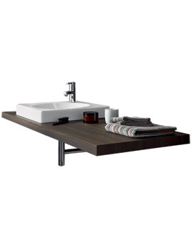 Related Duravit Delos Console With 1 Cut-Out For Countertop Basin