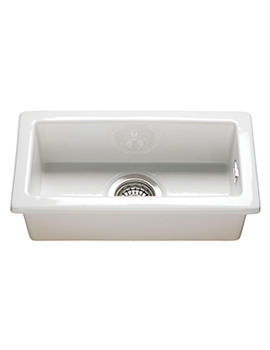 RAK Gourmet 7 Rectangular Fireclay Inset Or Undermount Kitchen Sink