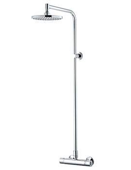 Related Aqualisa Midas Plus Thermostatic Mono Bar Mixer Shower With Drencher Head