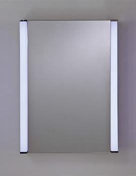 RAK Messina Single Door LED Illuminated Mirrored Cabinet 500 x 700mm