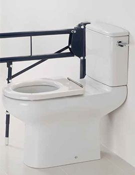 Compact Extended Rimless Close Coupled WC With Cistern 750mm