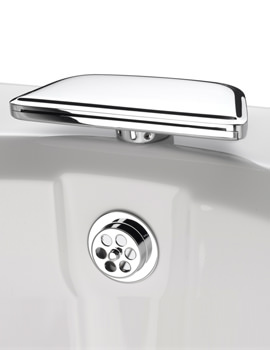 Qube Bath Spout Chrome - BS6 C