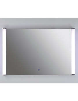 Luminere White Framed LED Touch Sensor Mirror 775 x 500mm