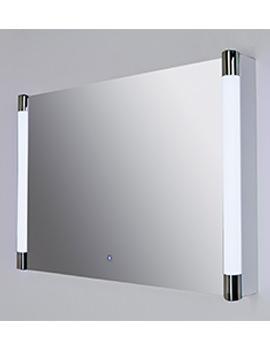 RAK Lucido Silver Framed LED Touch Sensor Mirror 775 x 500mm