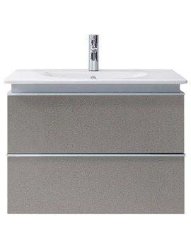 Related Duravit Darling New 600mm 2 Drawers Terra Vanity Unit With Basin
