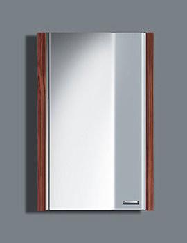 Duravit 2nd Floor Bleached Oak Right Hand Mirror Cabinet 400 x 620mm