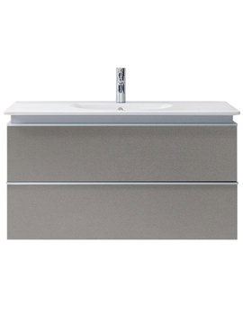 Related Duravit Darling New 800mm 2 Drawers Terra Vanity Unit With Basin
