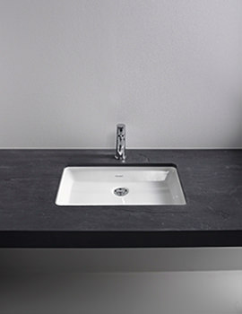 Related Duravit 2nd Floor Rosewood 700mm 1 Cut-Out Console For Undercounter Basin