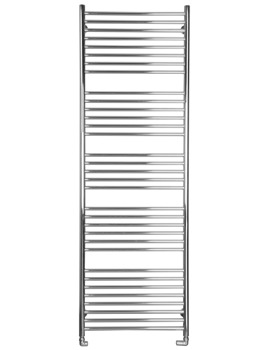 Jumbo Flat Dual Fuel Towel Radiator 600 x 1800mm - SS700