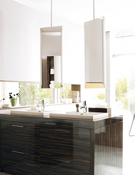 Image of Duravit 2nd Floor Mirror With Lighting And 1480mm Ceiling panel