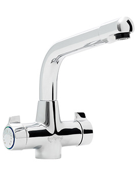 Targa Springflow Filter Water Kitchen Sink Mixer Tap