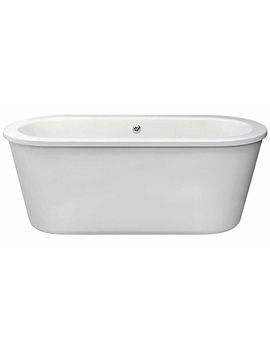 Lauren Corey Round Double Ended Freestanding Bath 1800 x 800mm - NFB001