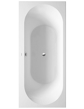 Related Duravit Darling New Bathtub 1800x800mm With Support Frame - 700256
