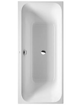 Related Duravit Happy D2 Rectangular Bath 1800 x 800mm - 700327