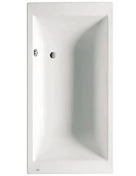 Vythos Double Ended Acrylic Bath 1800 x 900mm - 247592000