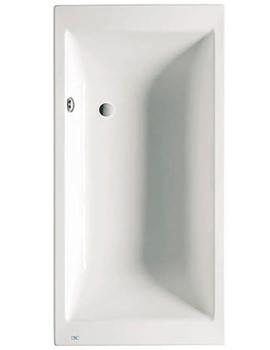 Vythos Double Ended Acrylic Bath 1800 x 900mm - 247592000