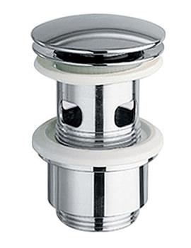 Slotted Luxury Push Type Basin Waste - PEX-389-S