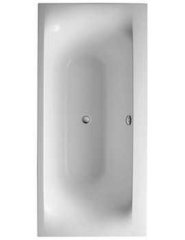Related Ideal Standard Moments Double Ended Bath 1800 x 900mm - K634201