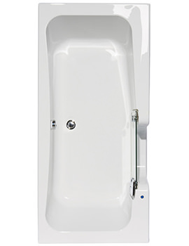 Related Balterley Entrada Easy Access Right Hand Bath 1700 x 800mm - BYETR