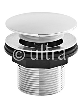 Ultra Push Button Bath Waste - E324
