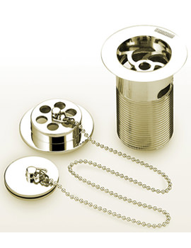 Related Bristan Luxury Gold Bath Waste With Brass Plug - W BTH6 G